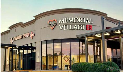Memorial Village ER Sign