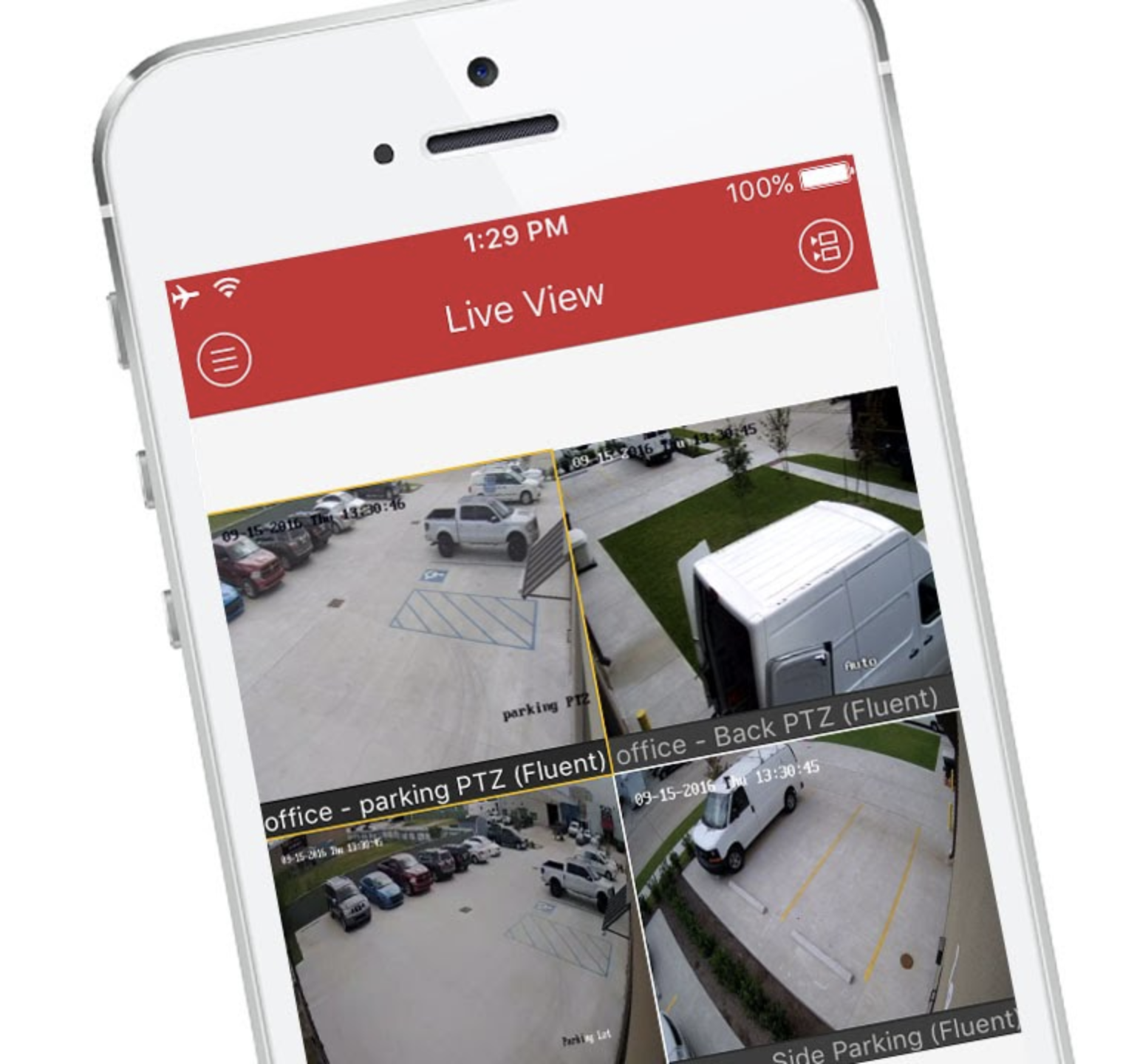 NVMS7000 iPhone App
